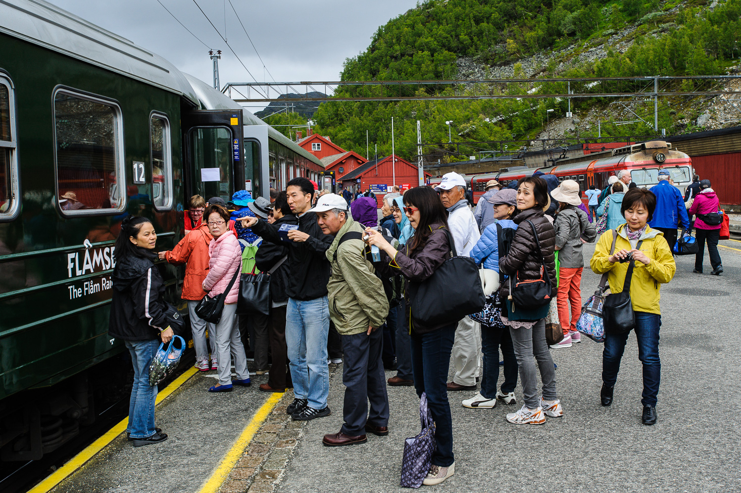 Tourism accounts for a mayor portion of the riders, now that cheap flights serve the end-to-end travelers. Bergensbanen was a popular tourist attraction from its time of opening. At Myrdal, one can change trains to go on the even more famous Flåm railway.