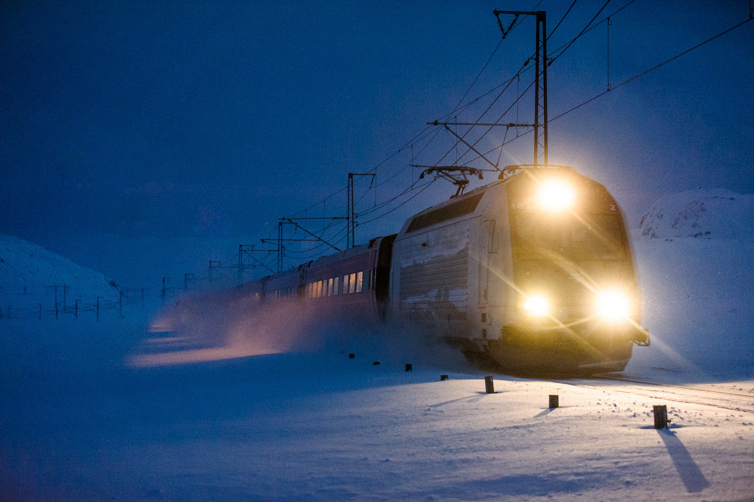 Train near Finse
